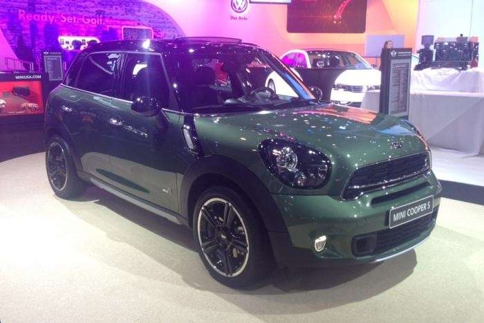 Mini Countryman al Salone di New York 2014