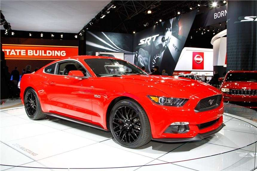 Ford Mustang, Salone di New York 2014