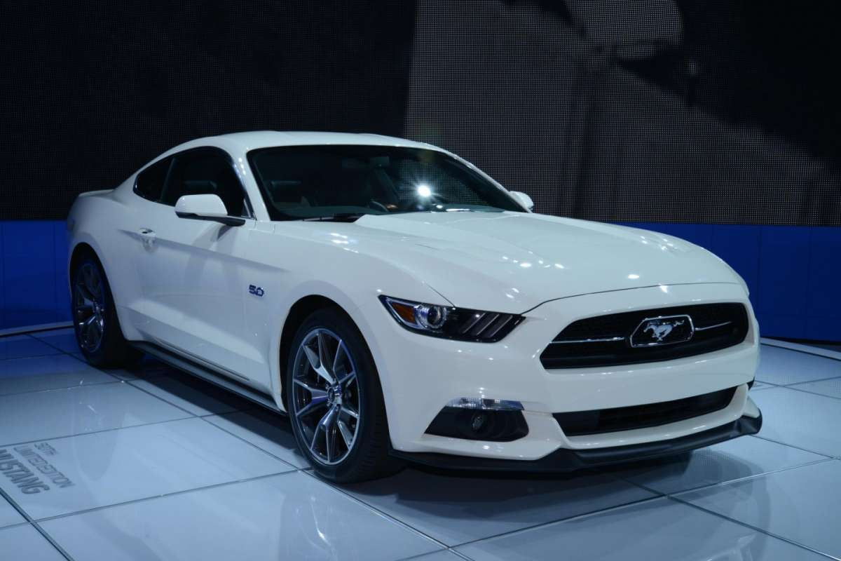 Ford Mustang, Salone New York 2014 - 01