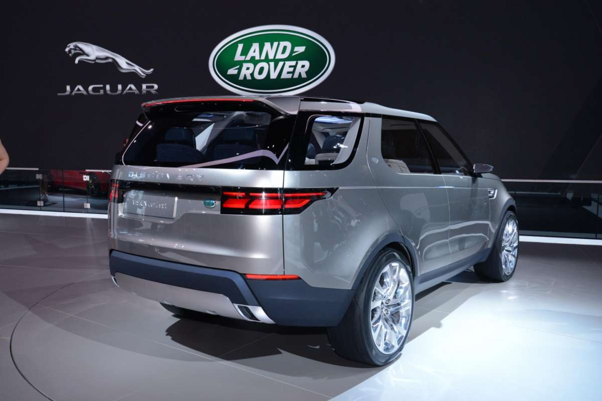 Land Rover Discovery Vision concept, Salone New York 2014 - 01