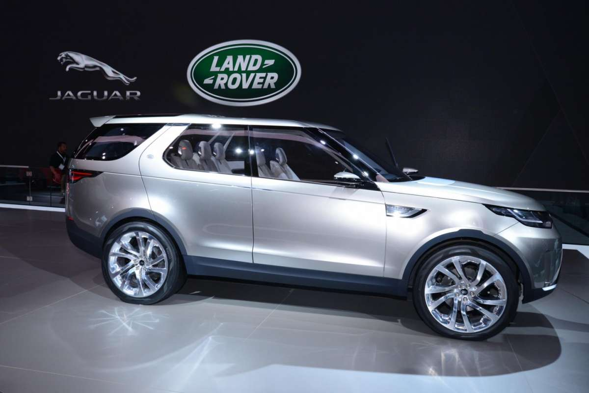 Land Rover Discovery Vision concept, Salone New York 2014 - 02
