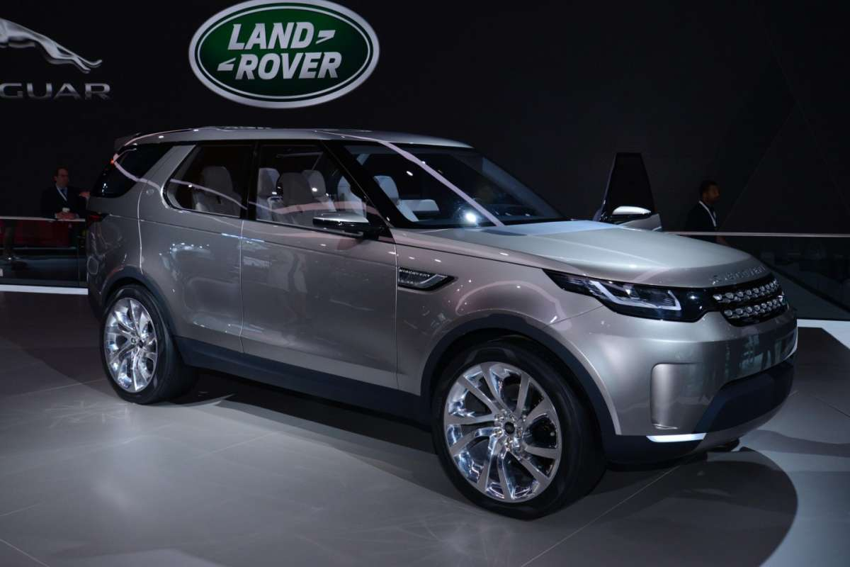 Land Rover Discovery Vision concept, Salone New York 2014 - 03