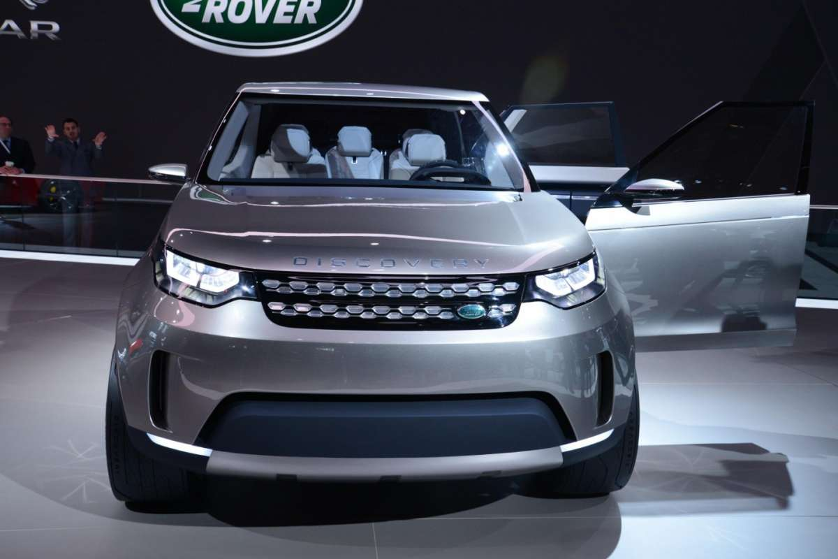 Land Rover Discovery Vision concept, Salone New York 2014 - 05
