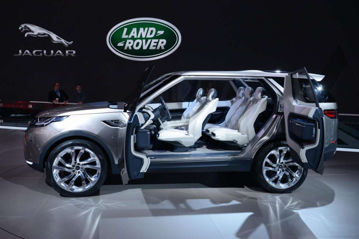 Land Rover Discovery Vision concept, Salone New York 2014 - 06