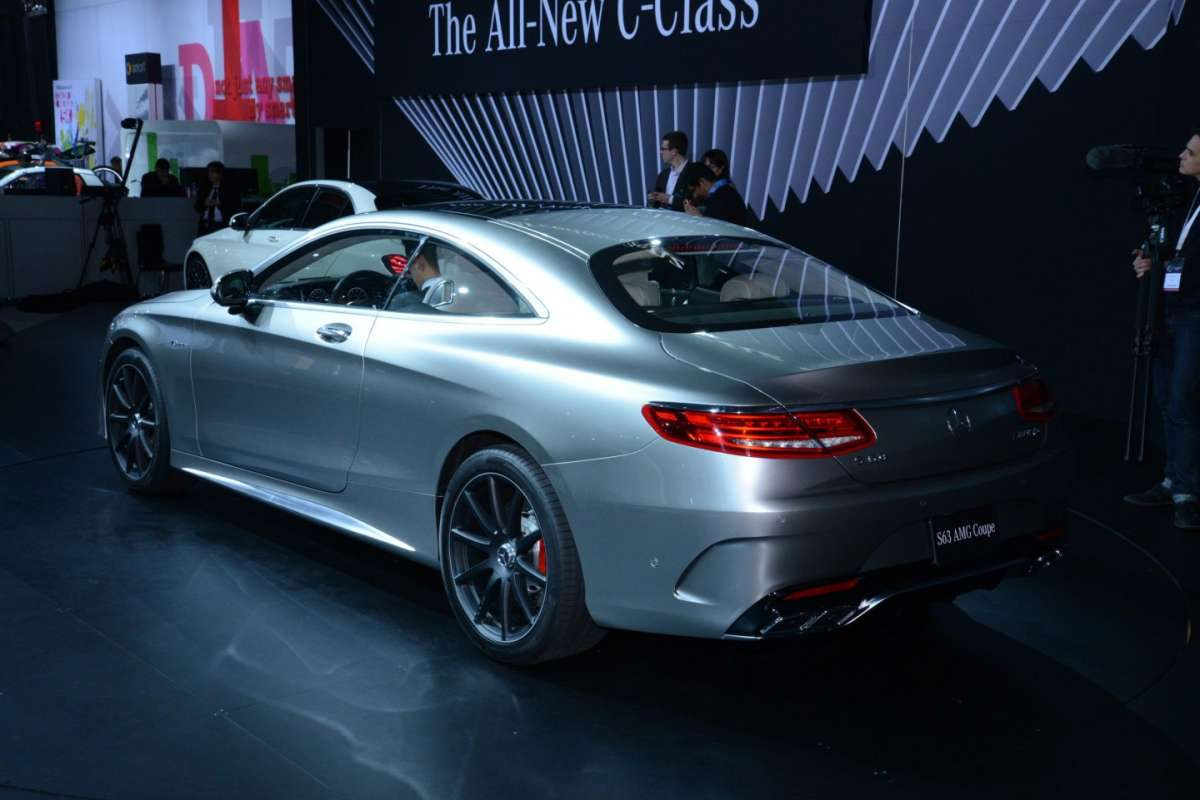Mercedes S63 Amg coupe, Salone New York 2014 - 01