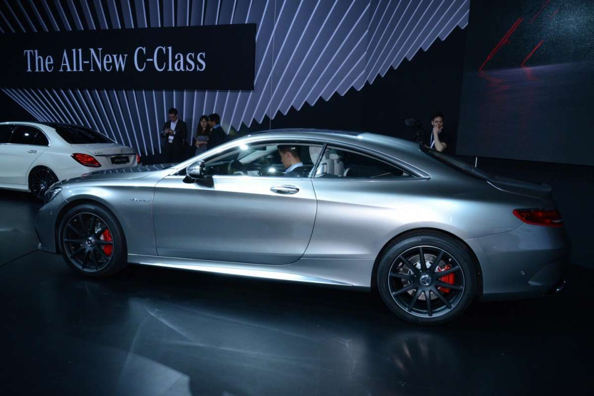 Mercedes S63 Amg coupe, Salone New York 2014 - 02