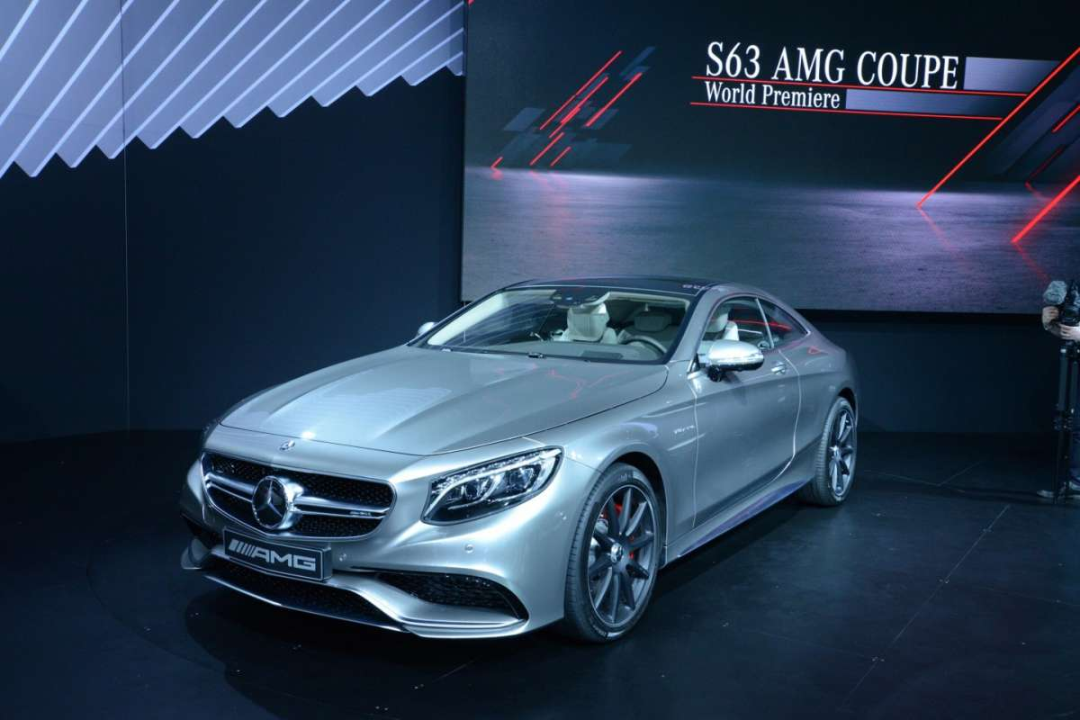 Mercedes S63 Amg coupe, Salone New York 2014 - 04