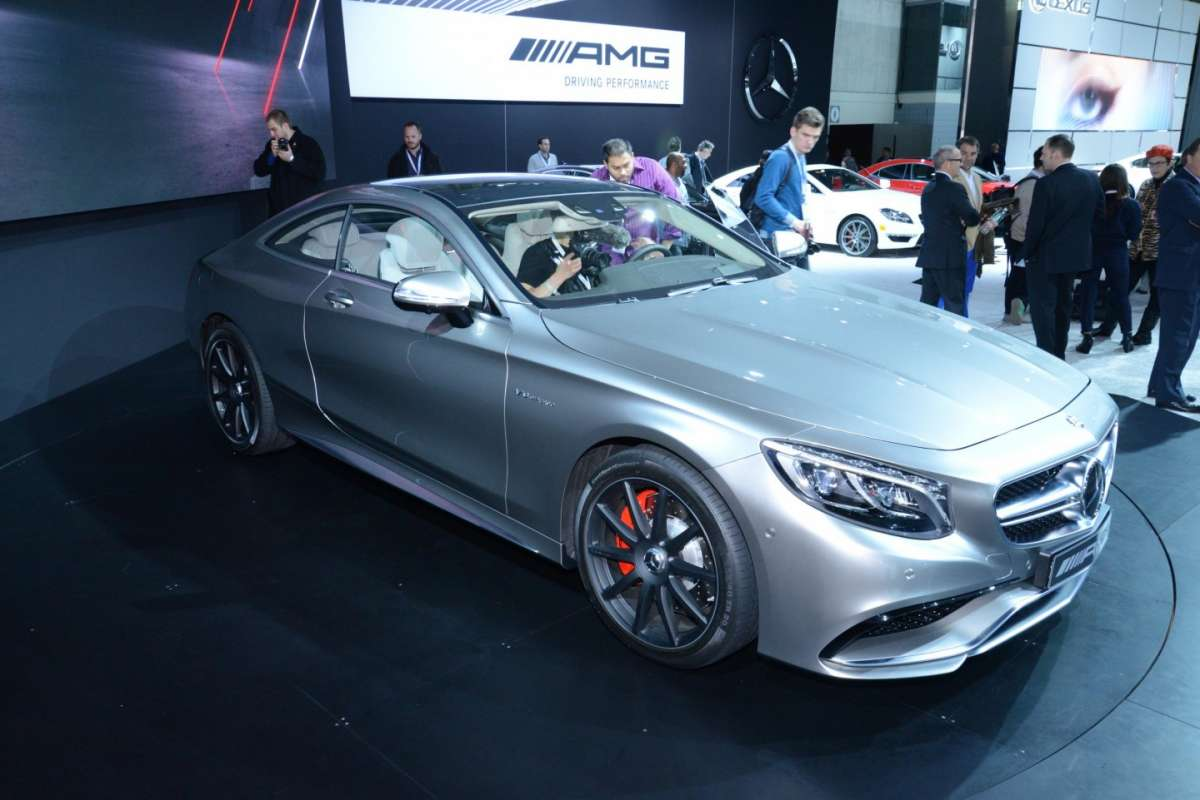 Mercedes S63 Amg coupe, Salone New York 2014 - 06