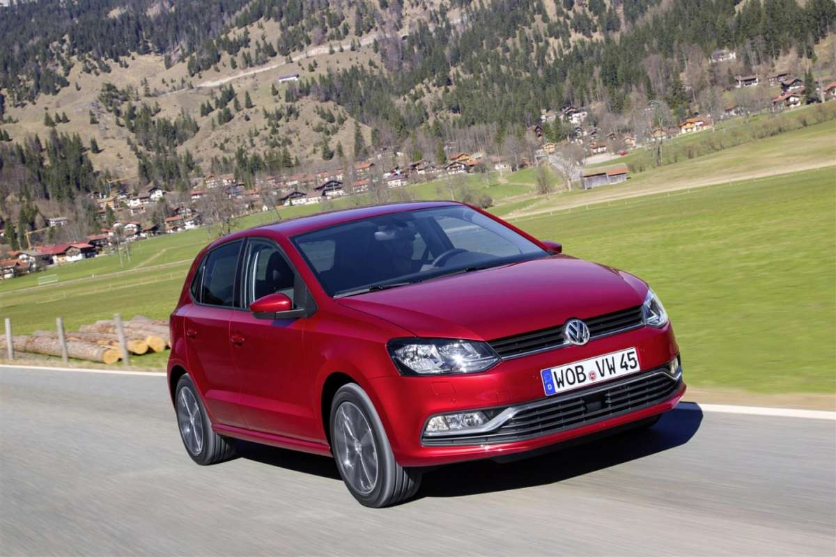 Nuovo frontale Volkswagen Polo 2014