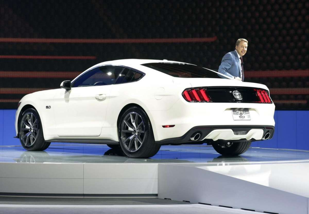 Ford Mustang, Salone New York 2014 - 2