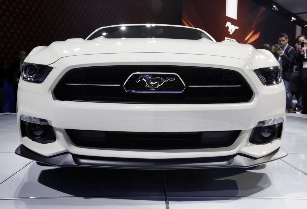 Ford Mustang, Salone New York 2014