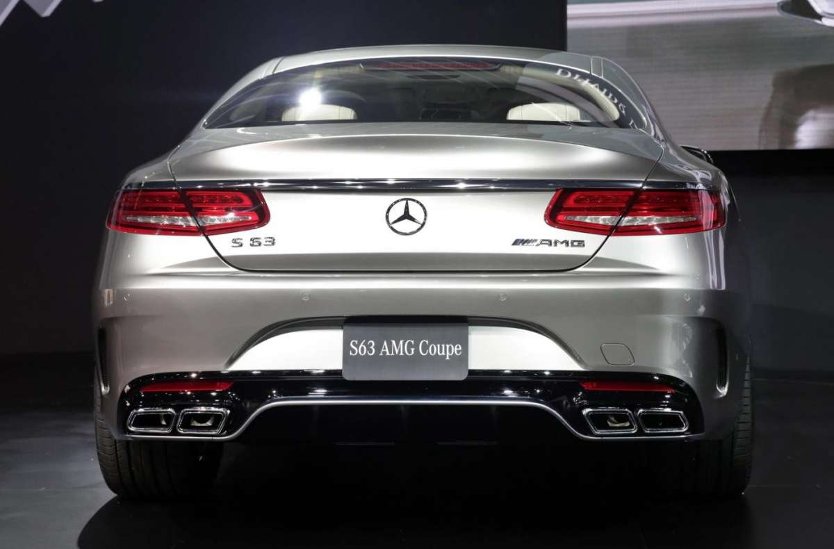 Mercedes S63 Amg coupe, Salone New York 2014 - 09