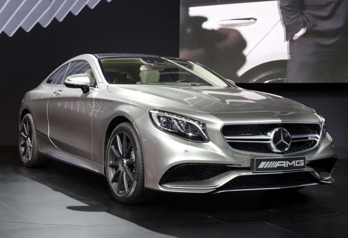 Mercedes S63 Amg coupe, Salone New York 2014 - 07