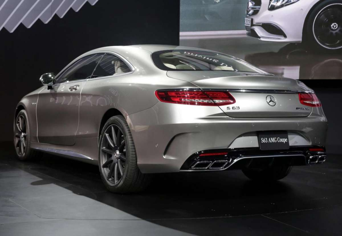 Mercedes S63 Amg coupe, Salone New York 2014 - 08