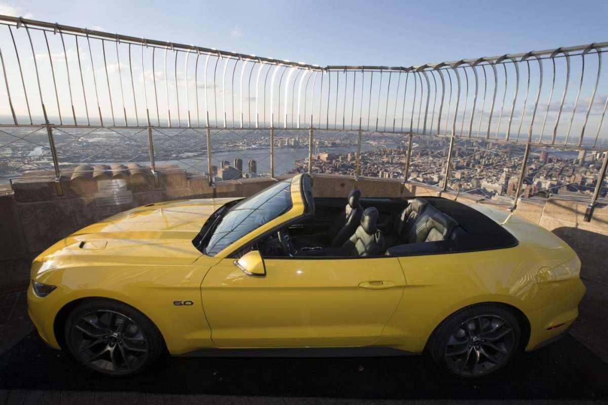 Ford Mustang convertible, Salone New York 2014 - 2