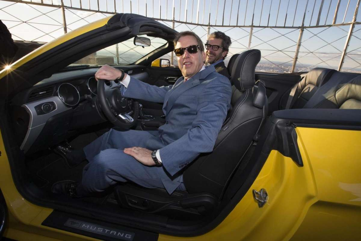 Ford Mustang convertible, Salone New York 2014 - 3