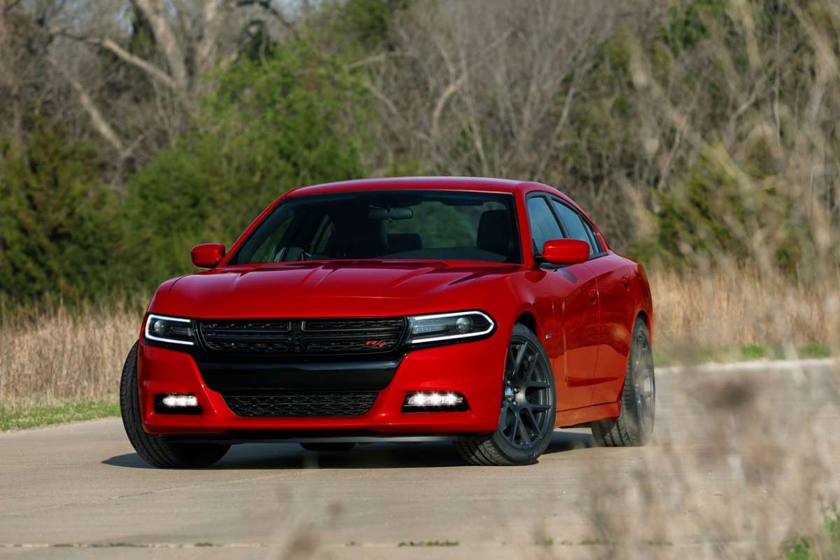 Dodge Charger 2015 frontale