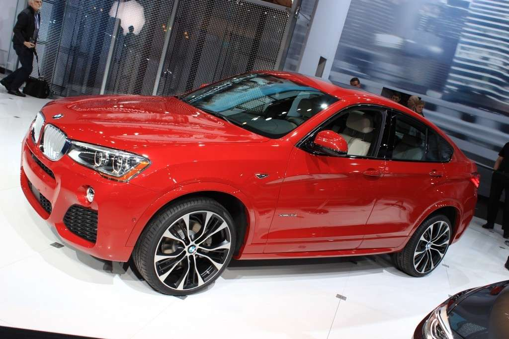 Presentazione BMW X4 al Salone di New York 2014