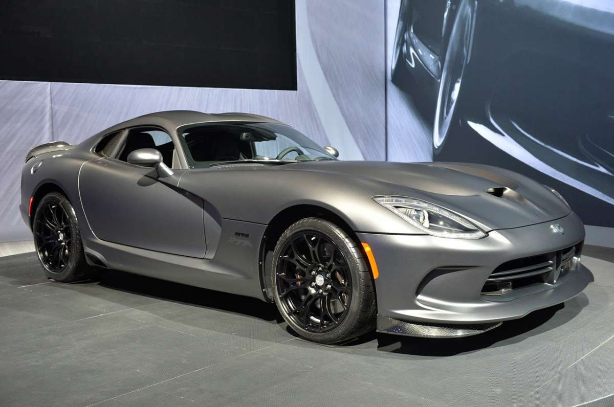 SRT Viper GTS Anodized Carbon al Salone di New York 2014