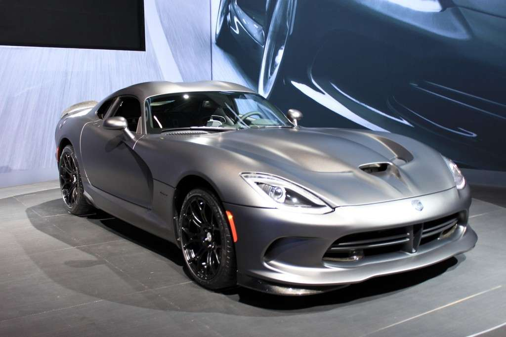 Frontale SRT Viper GTS Anodized Carbon