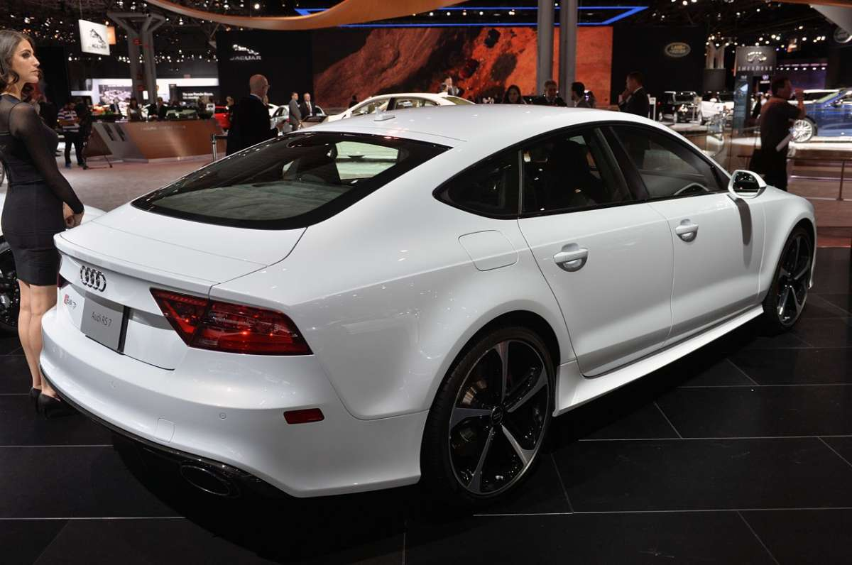 Audi RS7 Dynamic Edition posteriore  a NY 2014