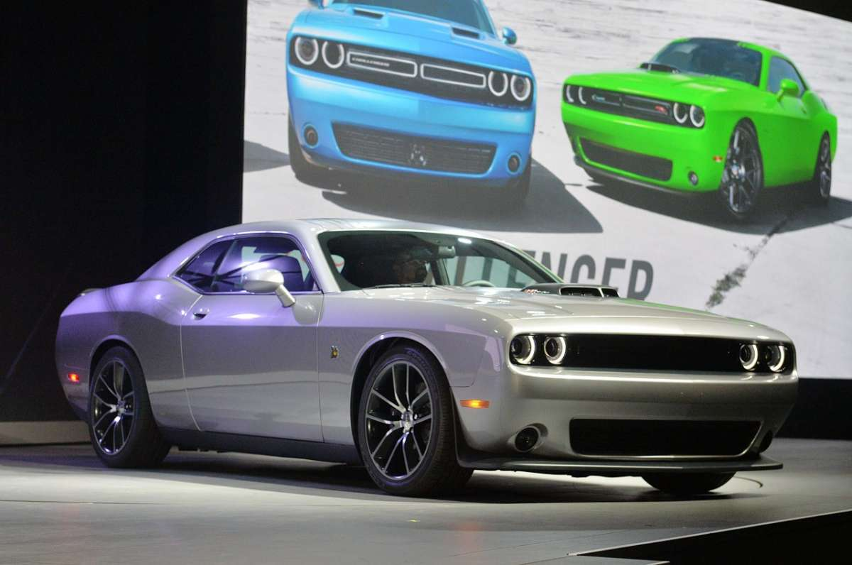 Frontale Nuova Dodge Challenger