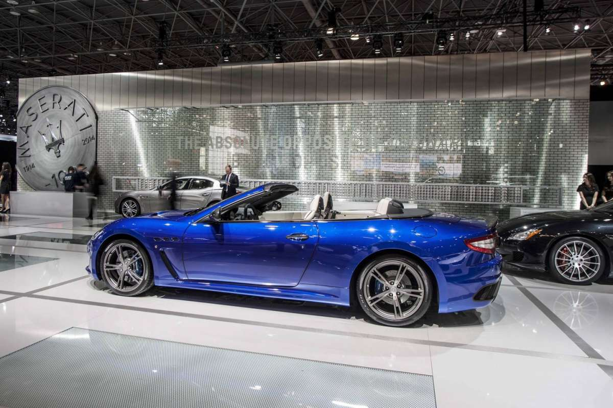 Maserati GranCabrio MC Centennial Edition al Salone di New York