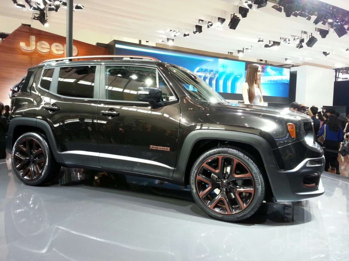 Jeep Renegade Apollo al Salone di Pechino 2014