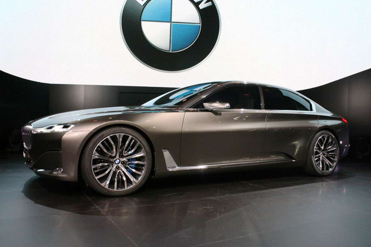 Prototipo BMW Vision Future Luxury Concept
