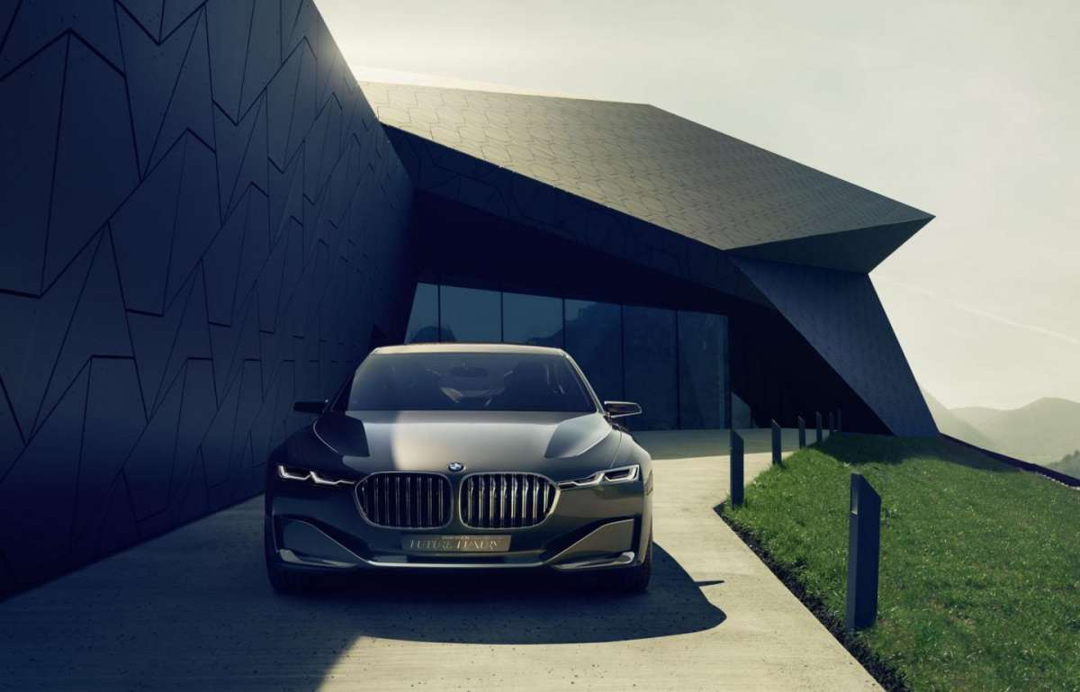 Vista da davanti BMW Vision Future Luxury Concept