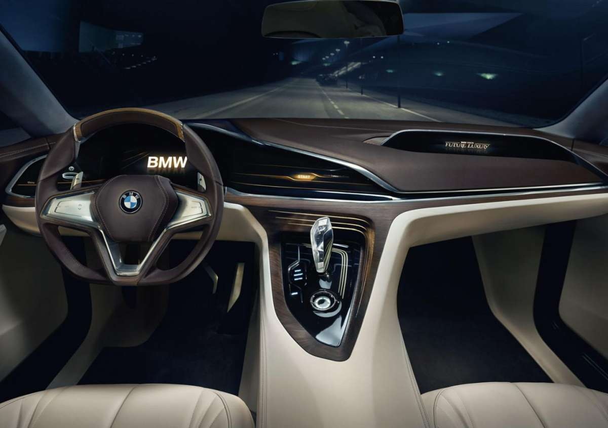 BMW Vision Future Luxury Concept interni