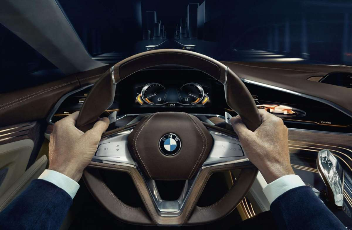 BMW Vision Future Luxury Concept volante