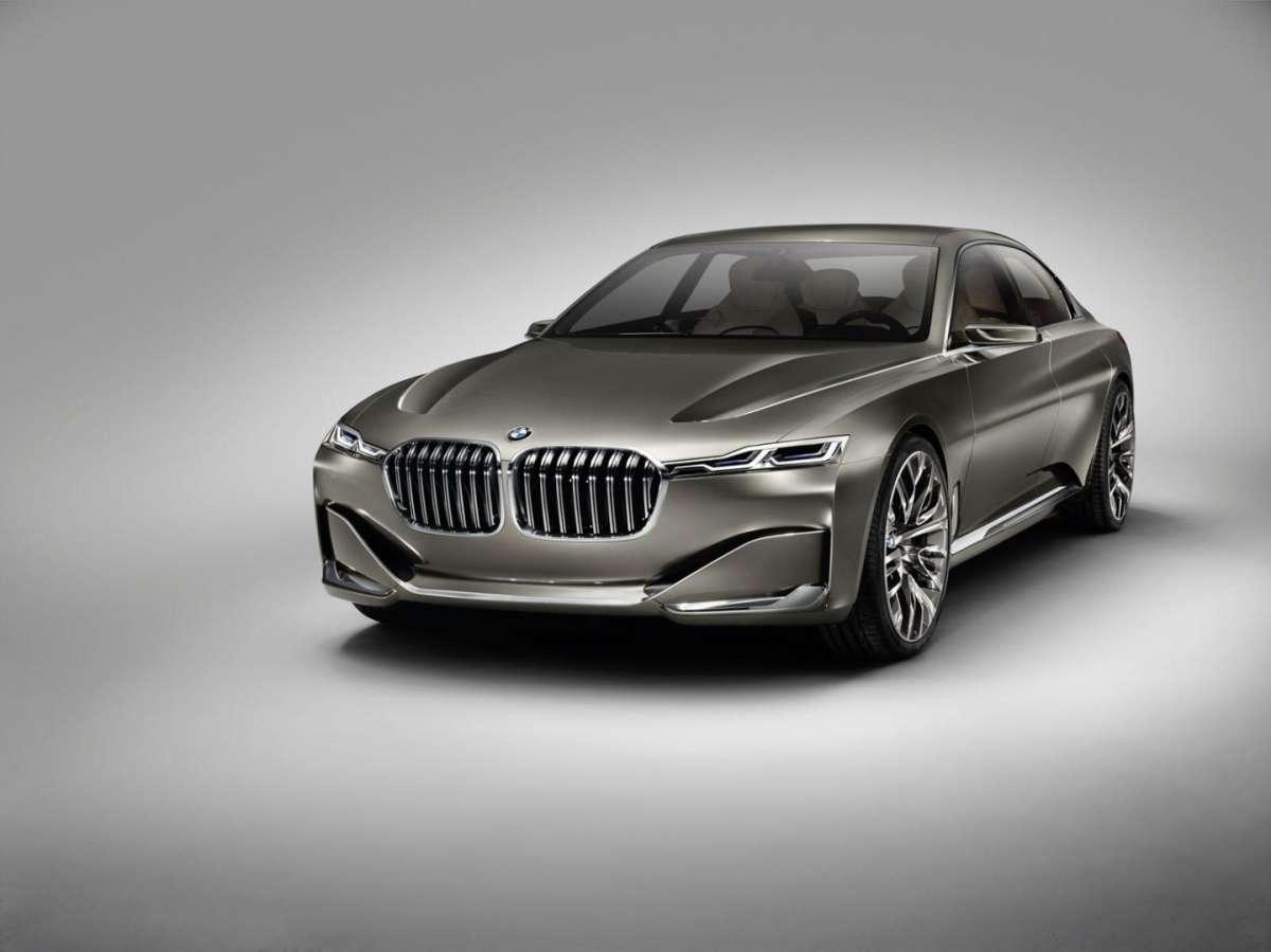BMW Vision Future Luxury Concept grigia