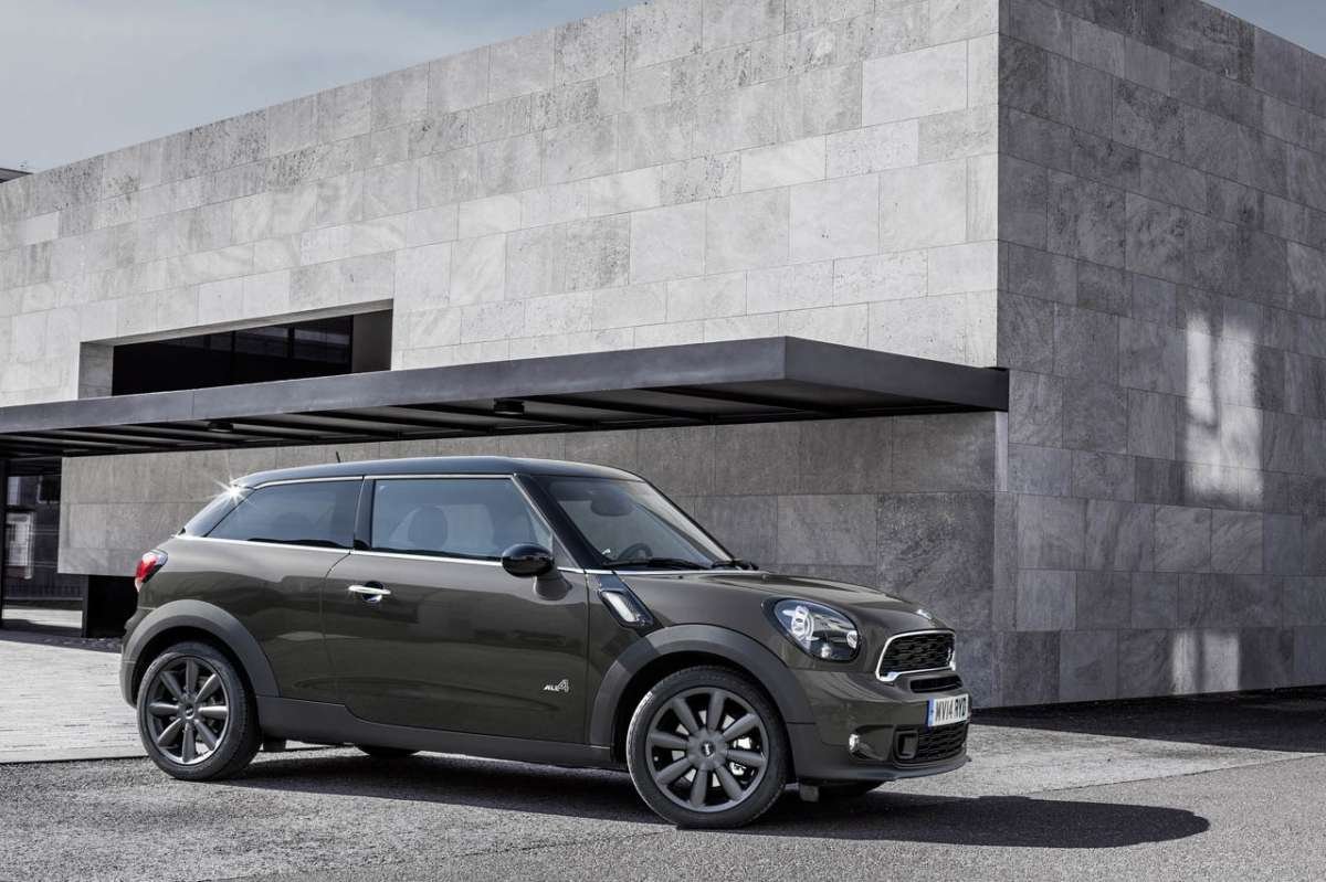 Mini Paceman 2014 restyling