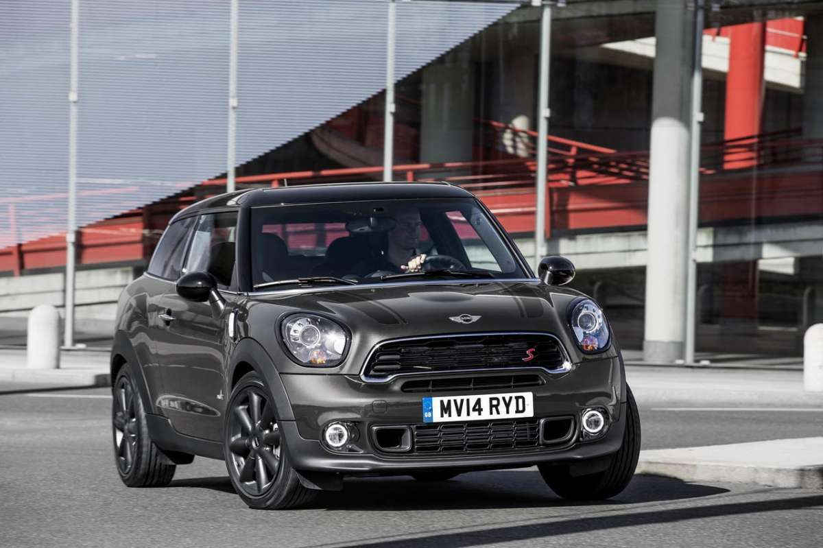Mini Paceman 2014 in curva