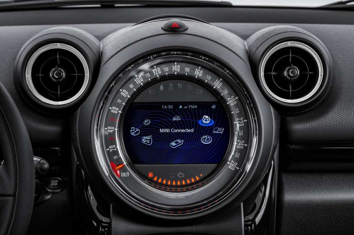Mini Paceman 2014 sistema multimediale