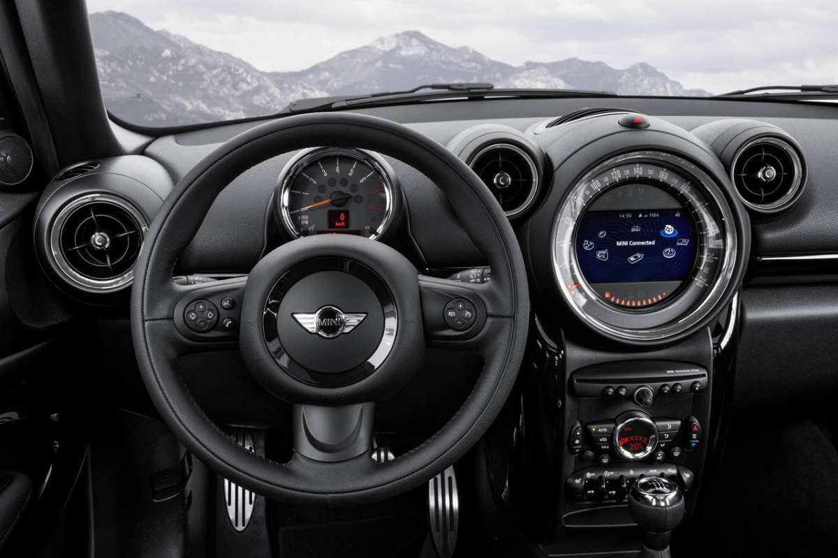 Mini Paceman 2014 interni