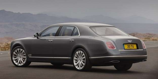 Bentley Mulsanne posteriore