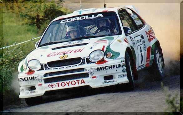 Toyota Corolla World Rally Championship