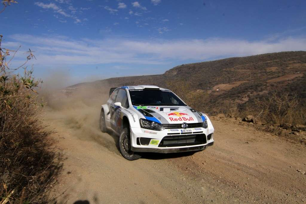 Volkswagen Polo WRC Rally del Messico