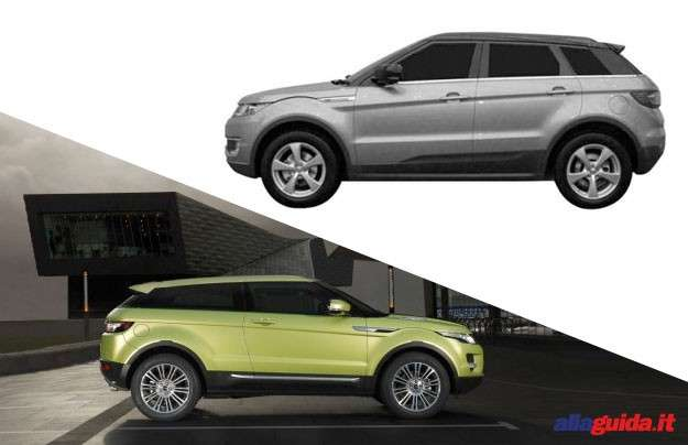 Landwind E32 vs Range Rover Evoque