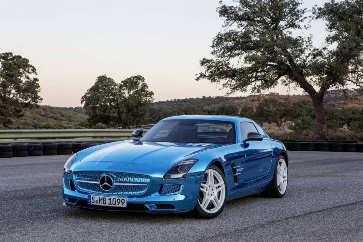Mercedes SLS AMG Electric Drive 2014