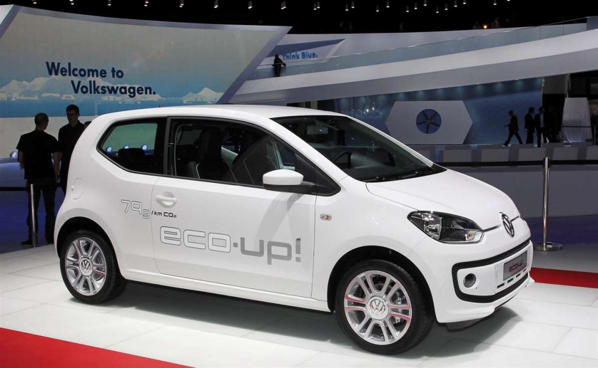 Volkswagen eco Up! Metano 2014