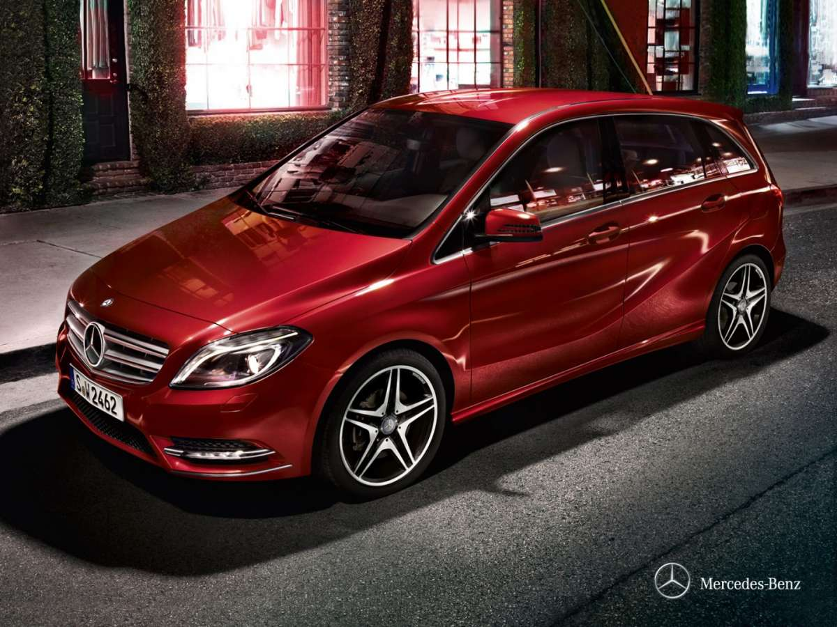 Mercedes B 200 NGD Metano 2014