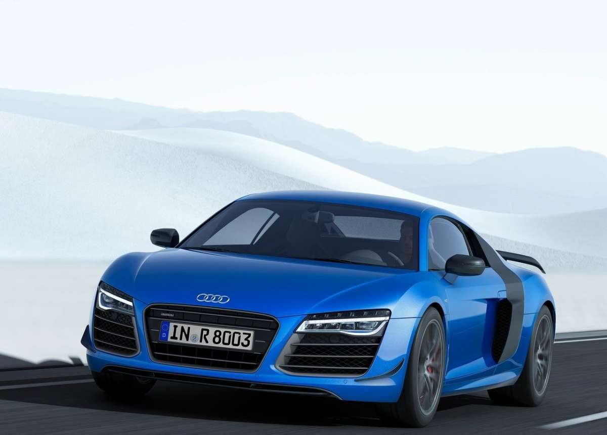 frontale Audi R8 LMX 2014
