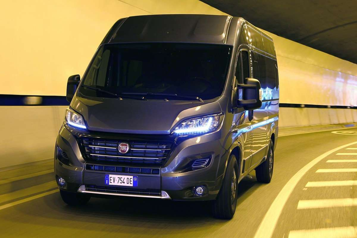 Luci a LED Fiat Ducato Panorama 2014