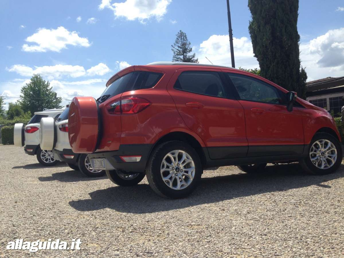 Laterale Ford EcoSport