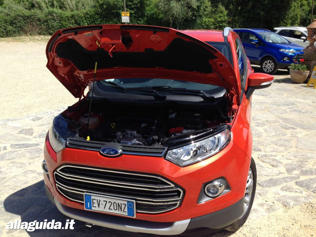 Ford EcoSport motore 1.0 EcoBoost