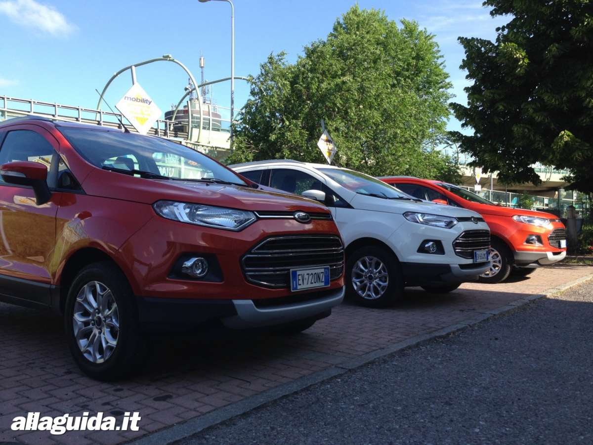 Ford EcoSport test drive