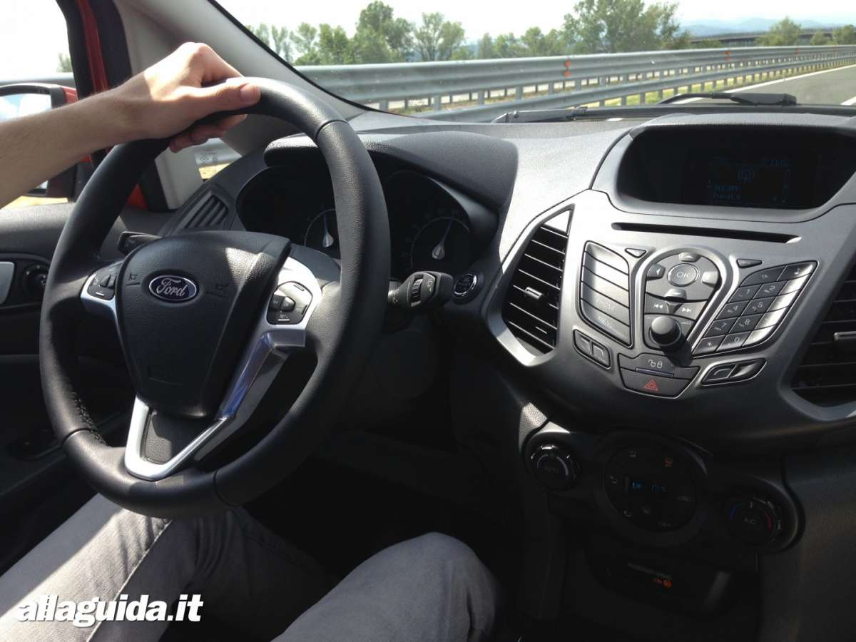 Consolle centrale Ford EcoSport